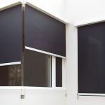Вертикальные маркизы на окнах