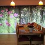 японские шторы с печатью