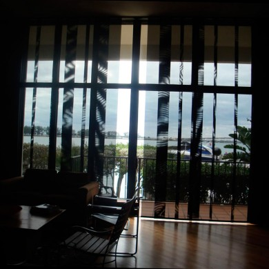 Прозрачные японские шторы
