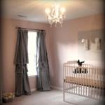 Интерьер с шторами для детской