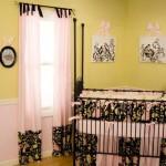Оформление  детской шторами