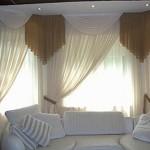 Вариант шторы для гостинной
