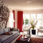 Дизайнерские шторы для гостинной