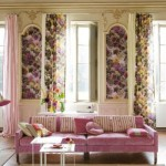 Вид шторы для гостинной