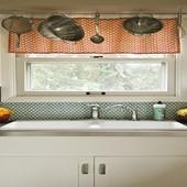 фото шторы для кухни