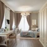 Шторы для спальни в интерьере