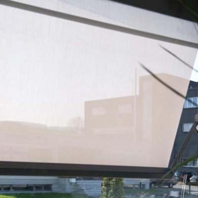 балконная маркиза полупрозрачная