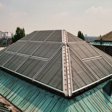 sunshield для зданий