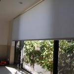 Рулонная штора на большое окно