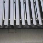 Алюминиевые Фасадные жалюзи (неподвижные)