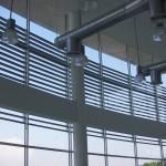 Фасадные жалюзи (неподвижные) вид изнутри