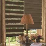 Двойные рулонные шторы день ночь фото