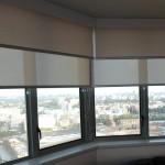 Двойные рулонные шторы день ночь ткани