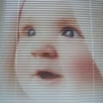 Горизонтальные фотожалюзи на окнах