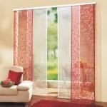 Японские шторы для разделения комнаты