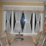 витражные шторы в гостинной