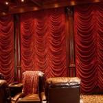 Большие французские шторы: пошив
