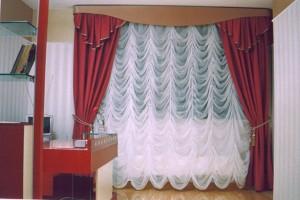 французские шторы для окон