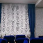 Французские шторы: фото в интерьере гостиной
