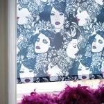 Рулонные шторы Фантазия на окнах