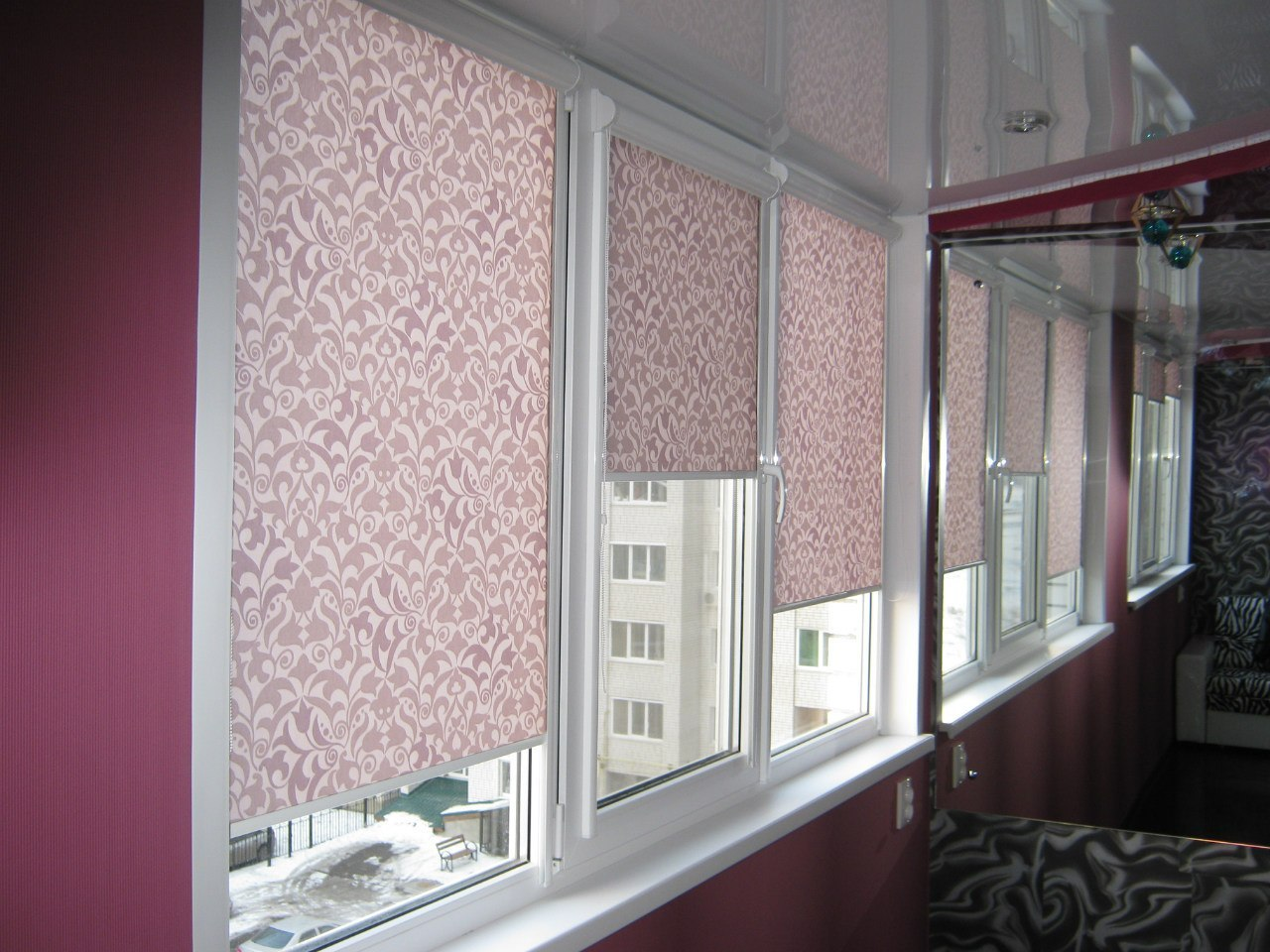 Рулонные шторы фантазия