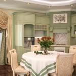 Итальянские шторы  в гостинной