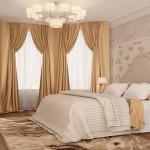 Итальянские шторы для спальни: фото