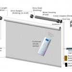 Схема расположения автоматического привода